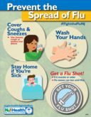 Help Prevent the Spread of Influenza