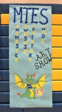 MTES Artwork at the District Art Show