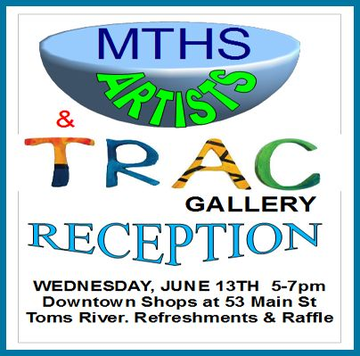 MTHS Student Artists Exhibit at Toms River Art Center