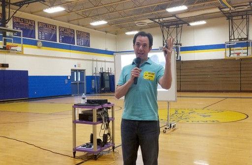 Author Marc Tyler Nobleman Shares Superhero Stories at MTMS