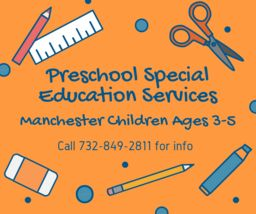 Preschool Special Education Services Available