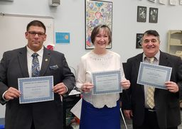 Staff Recognized for American Education Week