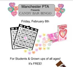 PTA Candy Bar Bingo Feb. 8