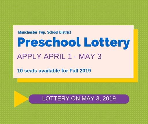 Preschool Lottery May 3