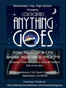 MTHS Drama Presents Anything Goes