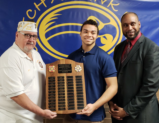 Manchester Student Takes Third in VFW National Competition
