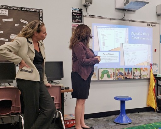 Committee Enthusiastic about New Elementary Math Program
