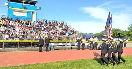 MTHS Holds First Ever Memorial Day Ceremony
