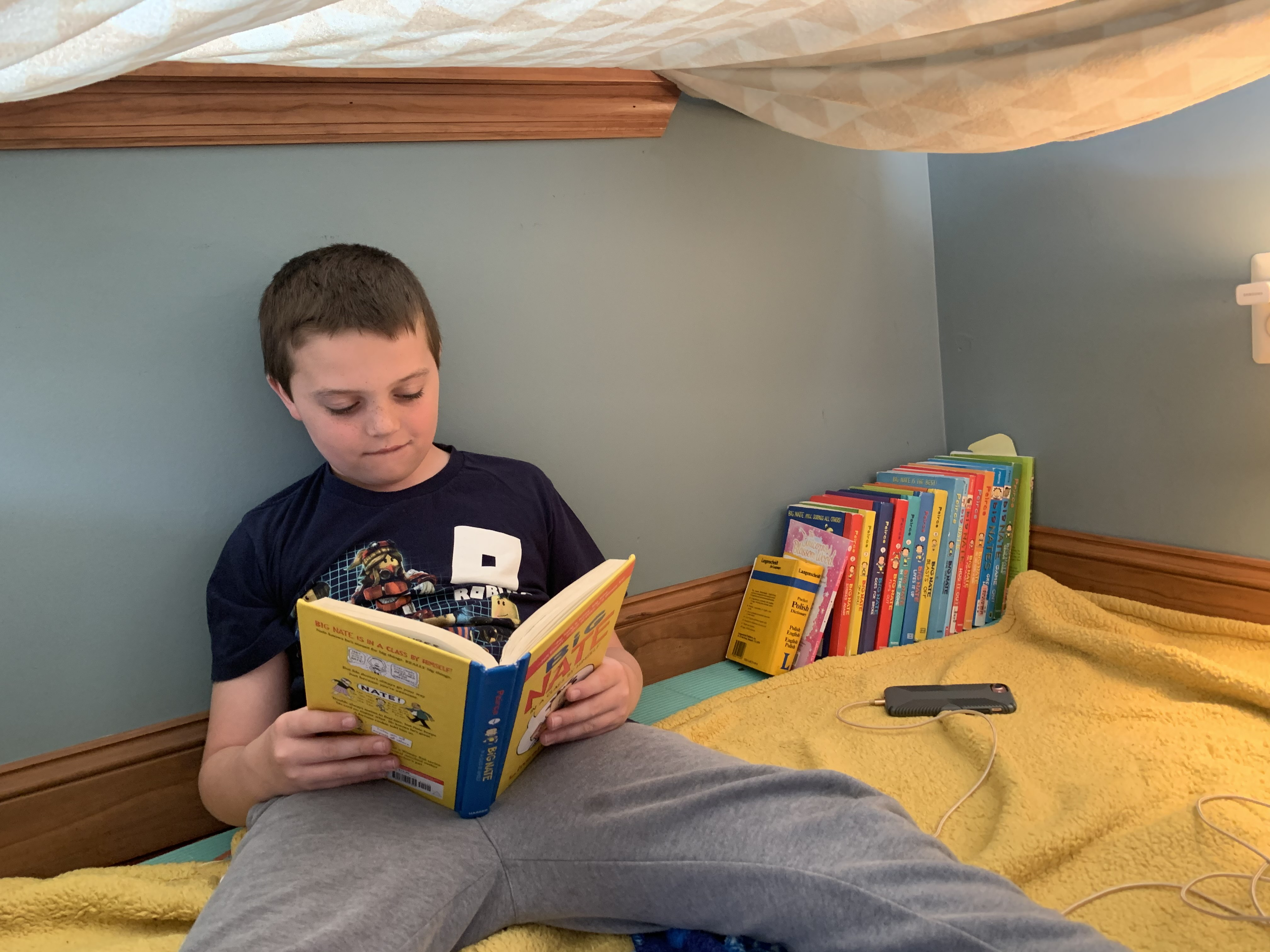 Reading in a Fort