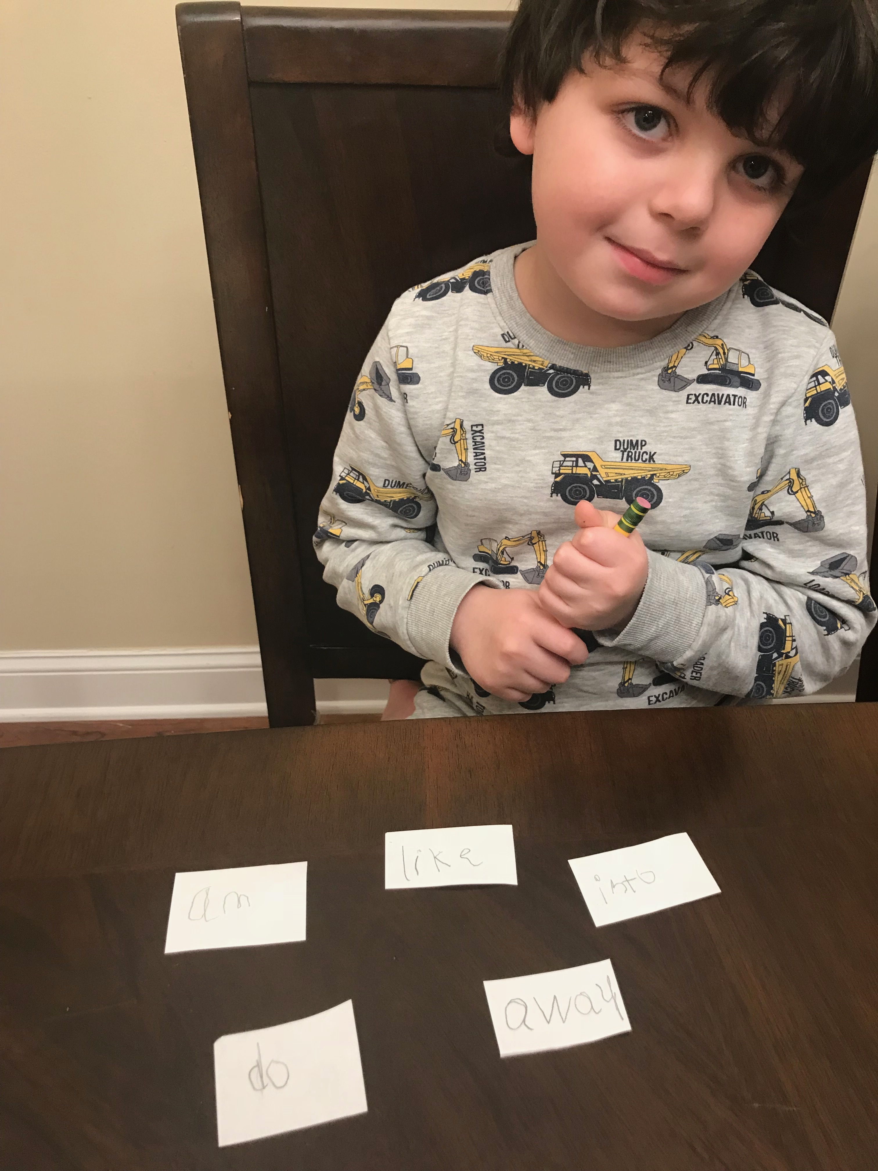 Practicing Sight Words