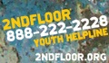 2nd Floor Youth Helpline 888-222-2228