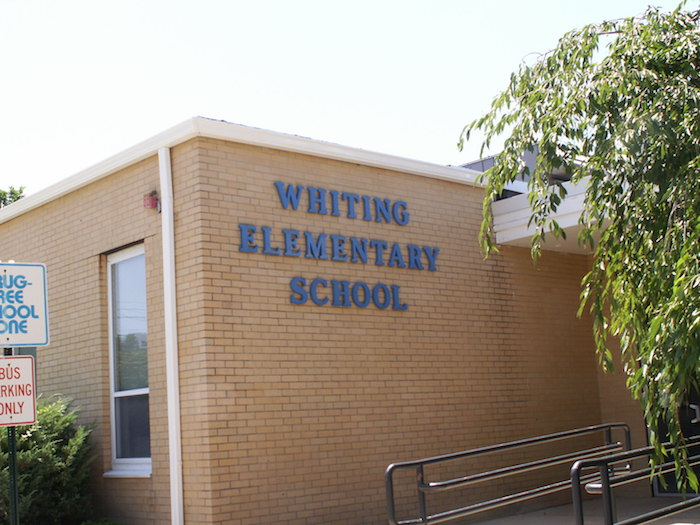 Whiting School front entrance
