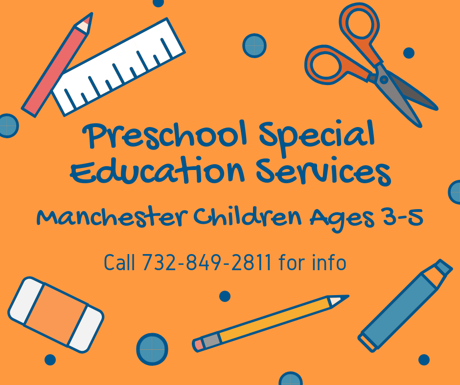 Preschool special education services
