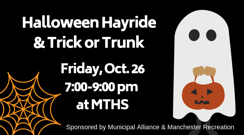 Hayride and Trick or Trunk Oct. 24 7-9PM at MTHS